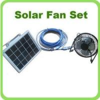 Buy cheap Solar Fan Set from wholesalers