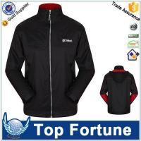 China Mens Nylon waterproof Rain jacket wholesale
