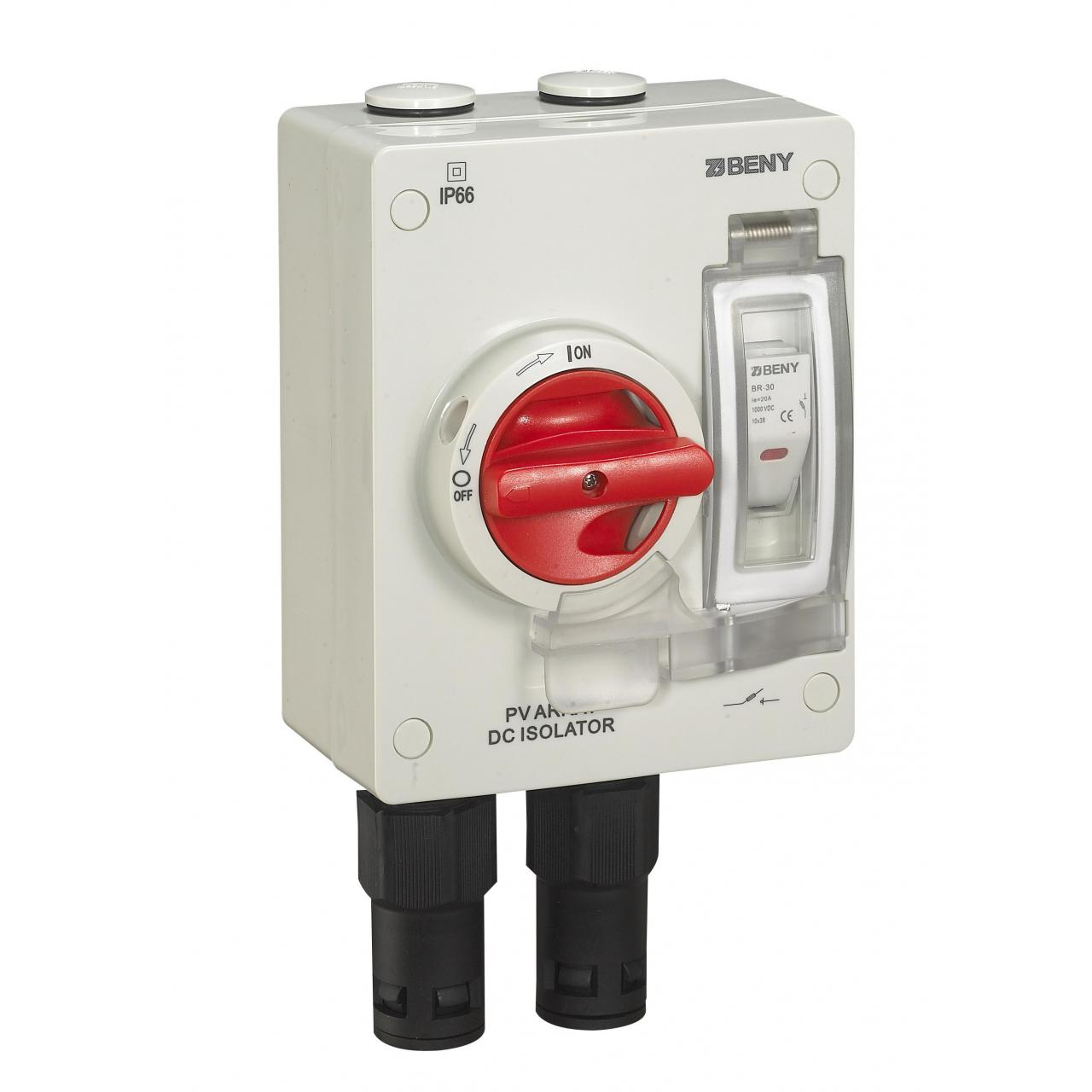 Buy cheap DC Components DC Isolator Switch With Fuse and Quick Connector from wholesalers