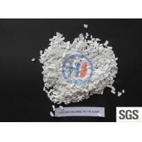 China Calcium chloride 74%-77% flake on sale