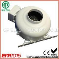 Centrifugal Fan 230V AC 10 inch Inline exhaust fan with bracket for bathrooms ventilation Manufactures