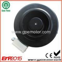 Centrifugal Fan High efficiency 48v DC Inline exhaust Fan with 220 EC centrifugal fan K160 Manufactures