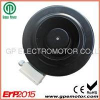 China Centrifugal Fan Quiet 24V 5 inch EC Inline Duct Fan with circular duct connection on sale