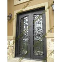 Buy cheap security doors for homes,decorative steel entry doors,rustless house security double door from wholesalers