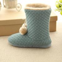 cashmere open woman snow boot(KL-B-158)