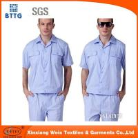 Buy cheap 100% Coton Anti-static&Anti-alkali coveralls from wholesalers