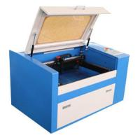 Buy cheap Desktop co2 laser engraving machine for leather bracelets wood pen with rotary d from wholesalers