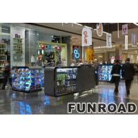 Open style shopping mall cell phone retail kiosk design Manufactures