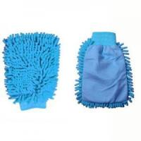 China Single-Side Microfiber Car Wash Gloves on sale