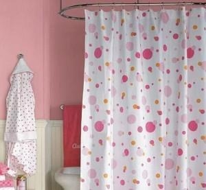 Quality Products Polyester print shower curtain for sale