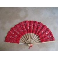 China cotton handmade lace wedding hand craft fans on sale