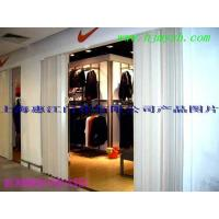 China Fast shutter doors PVC folding partition doors shop on sale