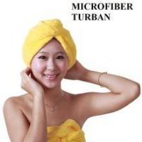 China Microfiber Quick Dry Towel Women Girls Lady's Hair Drying Towel Turban for Spa on sale