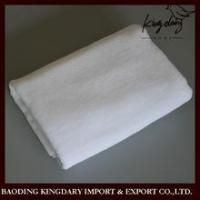 Buy cheap 5 star luxury cotton white dyed large border hotel towels from wholesalers
