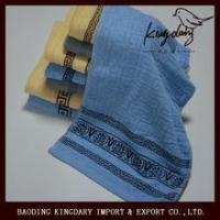 Buy cheap New design terry checkered towel made in China from wholesalers