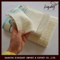 Buy cheap Hot selling of strip bamboo hand towels from wholesalers