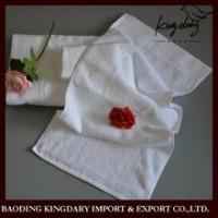 Buy cheap Embroidery or jacquard customized high quality white towel from wholesalers