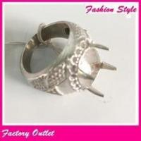 Alibaba wholesale silver&gold ring mens stainless steel indonesia finger ring Manufactures