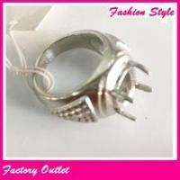 Indonesia latest stainless steel ring designs single stone finger ring fashion for men Manufactures