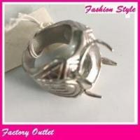 Cheap wholesale stainless steel mens designer finger rings indonesia ring without stone