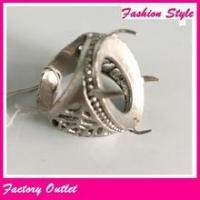 Fashionable mens ring of stainless steel gold ring finger jewelry wholesale Manufactures