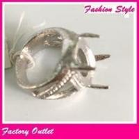 Fancy lucky gold stone finger fing designs, indonesian ring infinity of best of friends Manufactures