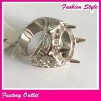 Factory wholesale love gold ring patterns, stainless steel ring without stone indonesia Manufactures