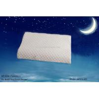 China Super Soft Contour Visco Elastic Memory Foam Pillow with Velboa Fabric Cover on sale
