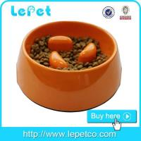 China Slow feed dog bowl melamine pet feeder dog bowl manufacturer wholesale on sale