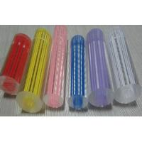 China high quality clear acrylic threaded rod with colored straight line on sale