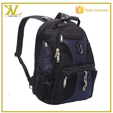China New school 17 inch laptop backpack for college students, wholesale high end laptop bag