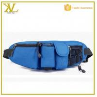 China Multifunctional running waist belt , sport running waist pack with bottle holder on sale