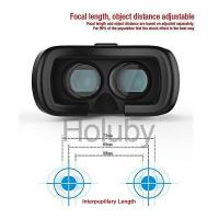 VR BOX VR02 3D VR Box Glasses Upgraded Version Virtual Reality 3D Video Headset for Smart Phone Manufactures