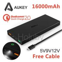 Buy cheap AUKEY 16000mAh Quick Charge 2.0 Fast Charger Power Bank with Dual USB (PB-T3) from wholesalers