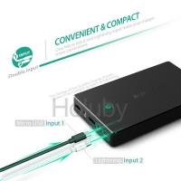 Buy cheap Aukey 20000mAh Portable Charger External Battery Smart Charging Power Bank with Dual USB from wholesalers