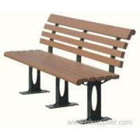 China outdoor wpc garden chair on sale