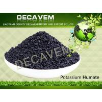 Potassium Humate Crystal 95% water solubility Manufactures