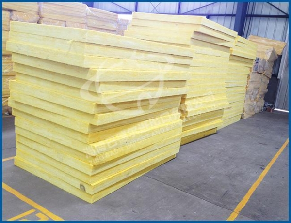 Quality Glass wool board Fire proof thermal insulation glass wool for sale