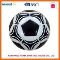 personalized PU machine stitched soccer ball with BSCI ICTI cetificate Manufactures