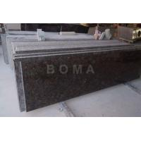 Buy cheap Prefab Kitchen Countertop Countertop. Tan Brown-Eased Polished from wholesalers