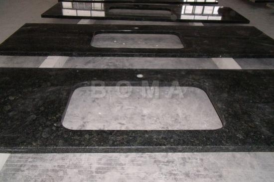 Quality Custom Kitchen Units Verde Butterfly-Kitchen Tops with Undermount Sink cutout for sale