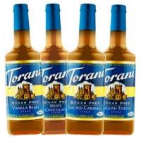 Torani Sugar Free Flavored Syrups - 750 ml Glass Bottle Assorted Case Manufactures