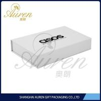 China white collapsible cardbaord paper box with high quality, made in china on sale