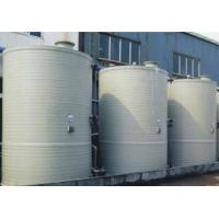 China Valves and pipe fittings PPH/HDPE Extrusion winding storage tanks, towers on sale