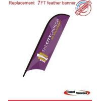 Replacement 7ft feather banner only