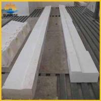 for glass furnace refractory brick prices Fused cast AZS block Manufactures