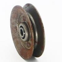 Buy cheap Pulley Lawnmower V Belt Pulleys with Double Rows Bearings from wholesalers