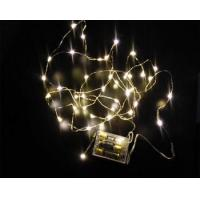 holiday party wedding decorative battey operated led icicle lights Manufactures
