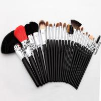China 23pcs Long Handle Sable Hair Makeup Brush Set on sale