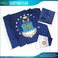 Custom Made Flags 120gsm Knitted Polyester Custom Flags Manufactures
